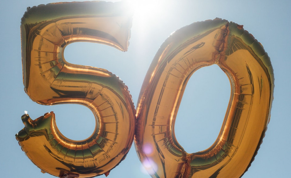 How To Change Career At 50 - 50th balloons