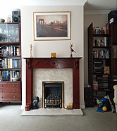 The Power Of Not Giving Up - Living Room With Fireplace
