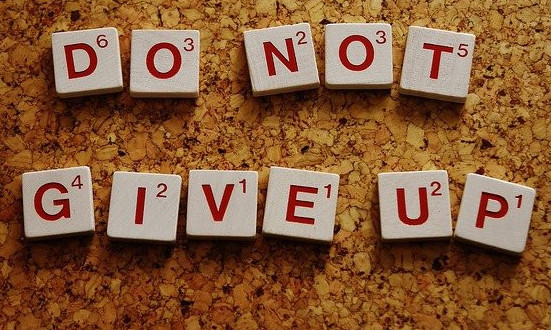 The Power Of Never Giving Up