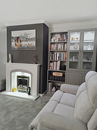 The Power Of Not Giving Up - Grey Living Room